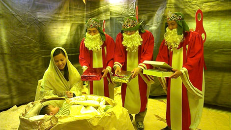 社區互動過聖誕